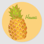 Hawaiian Islands Hawaii Tropical Pineapple Sticker